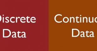 بررسی انواع داده Interval-Scaled/Ratio-Scaled و Discrete/Continuous (گسسته و پیوسته) در داده کاوی